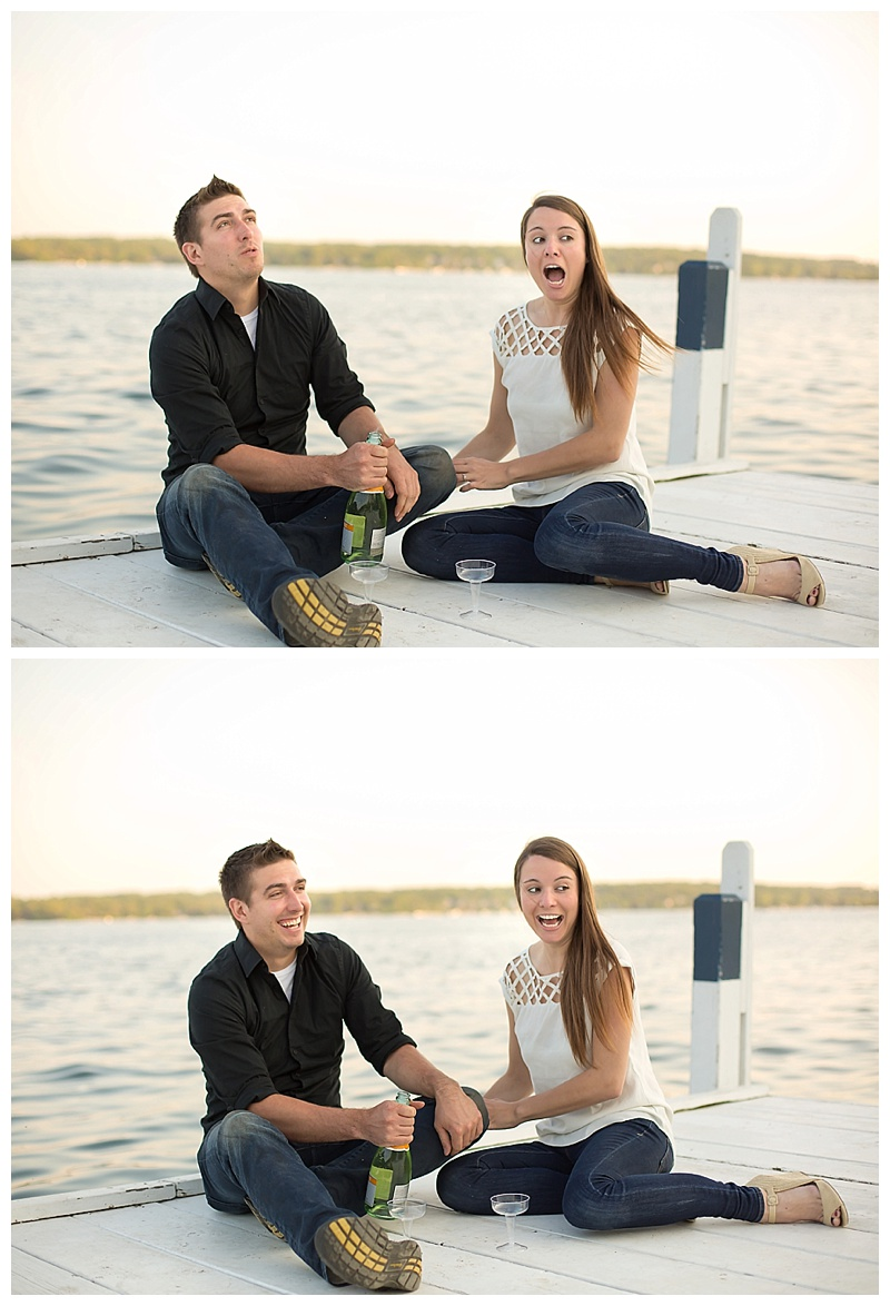 Crystal Lake Engagement Photographer